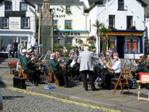 Band at Ulverston